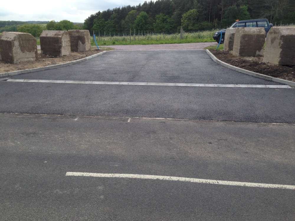 Construction of New Entrance to Vineyard (4)