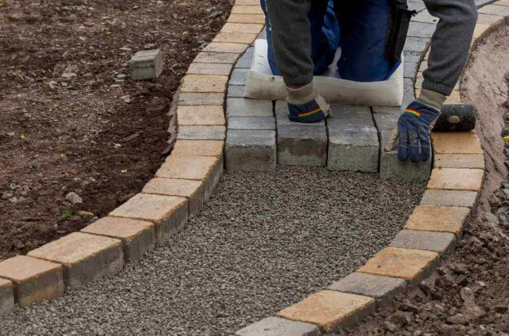 Sussex driveways clarke baker surfacing for Hard landscaping