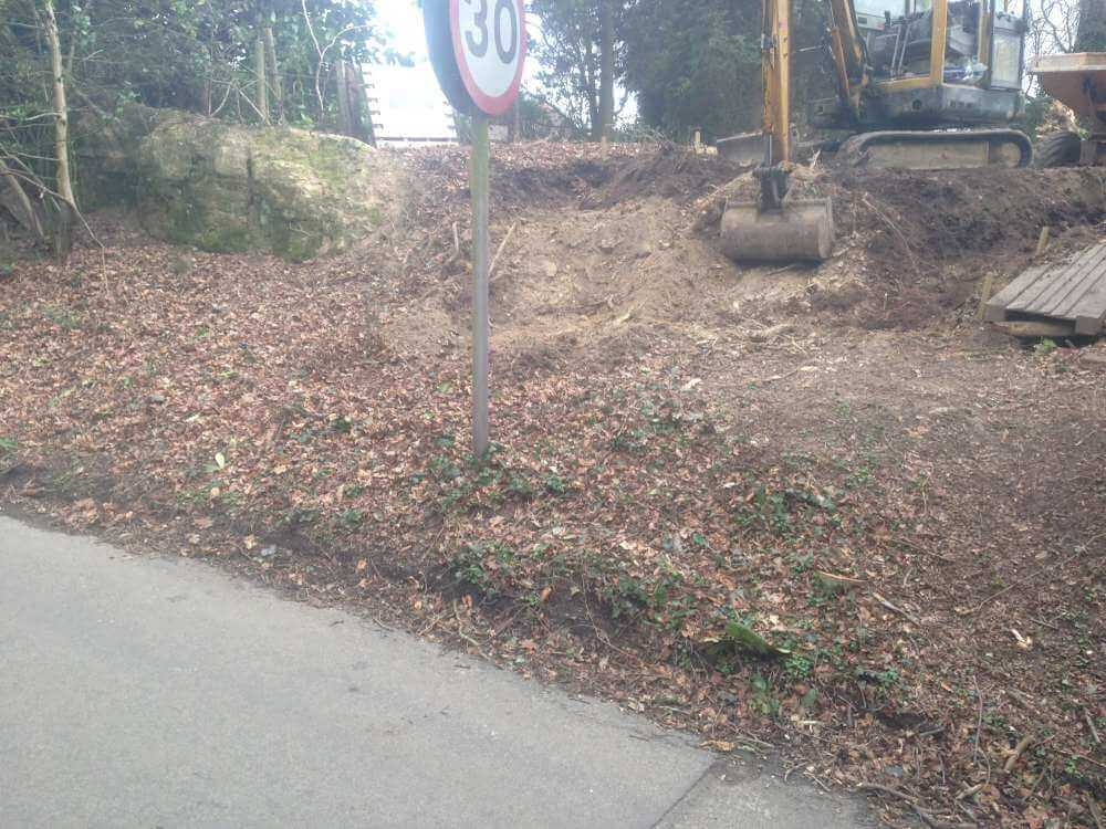 Project to Create a New Entrance _ Tarmac Drive (1)