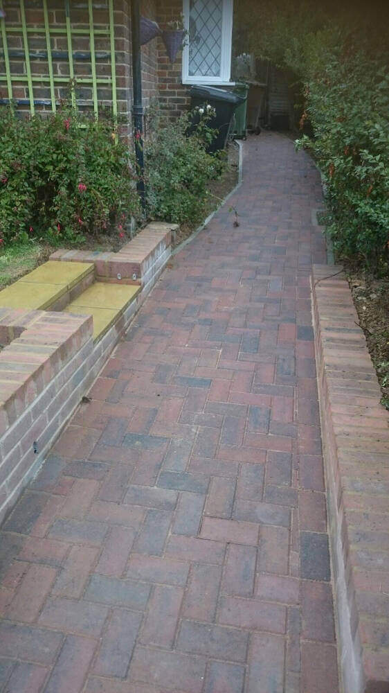New wheelchair access and walls in Bexhill (4)